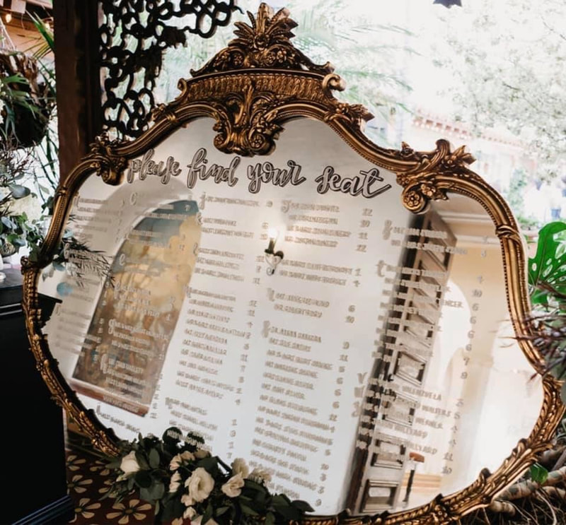 wedding seating charts and escort cards